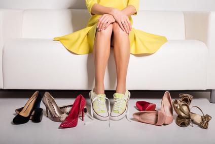 Converse (Sneakers) oder High Heels?